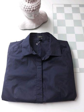 Granatowa koszula / bluzka r.S Esprit