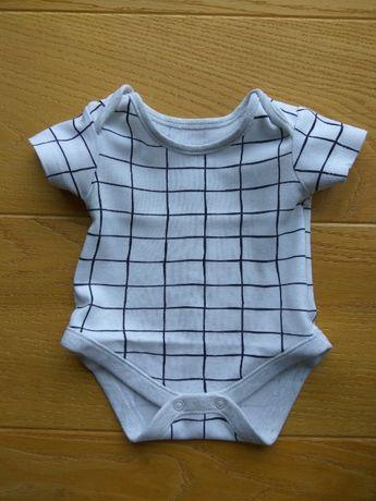 Body niemowlęce z krótkim rękawem George 0-3 m-ące