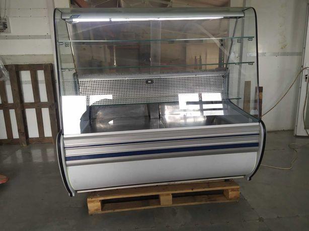 Кондитерская холодильная витрина Б/У Cold 1,4м; Витрина холодильная бу