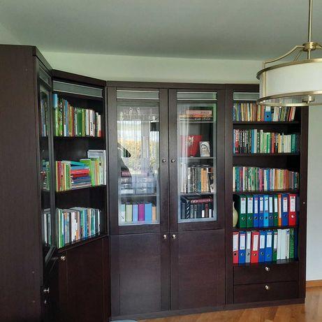 Meble gabinetowe/biblioteczka z barkiem