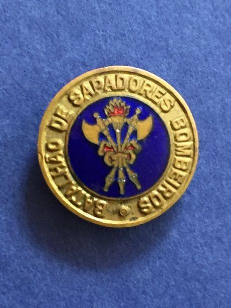 PIN/Abotoadeira esmaltado Batalhão de SAPADORES BOMBEIROS
