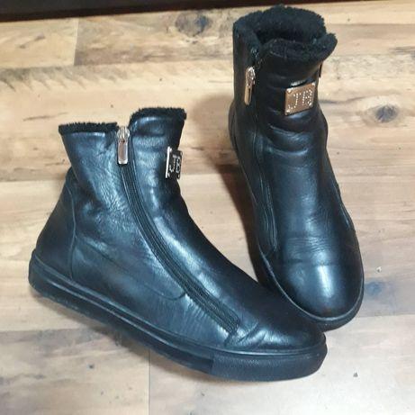Зимние ботинки полуботинки
