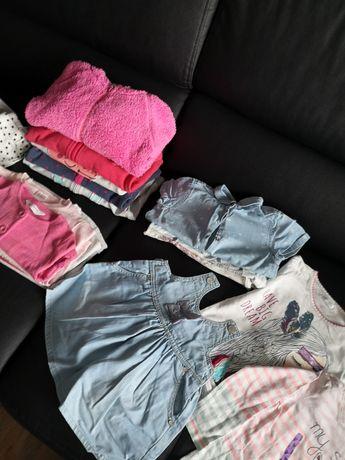 Zestaw paka ubranek dla dziewczynki r 86-98 Zara cool Club itp