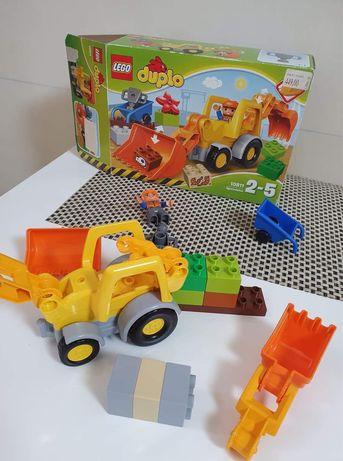 Lego Duplo  экскаватор погрузчик