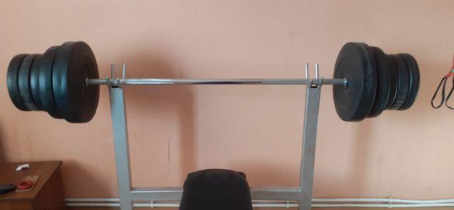 штанга 80 кг rn sport