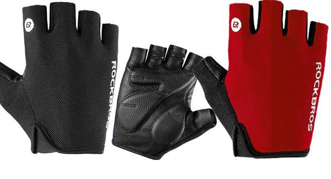 ПРЕМИУМ перчатки без пальцев ROCKBROS S106 велоперчатки вело велосипед