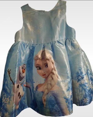 Sukienka dziewczęca 74