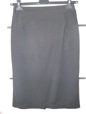 Orsay spódnica ołówkowa midi wysoki stan  w prążki M 38