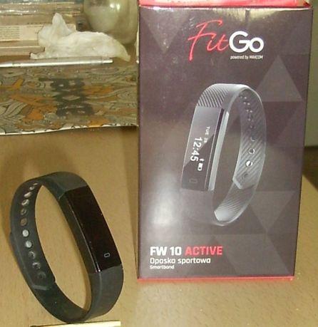 Opaska sportowa uszkodzona FitGo FW10 (smartband)