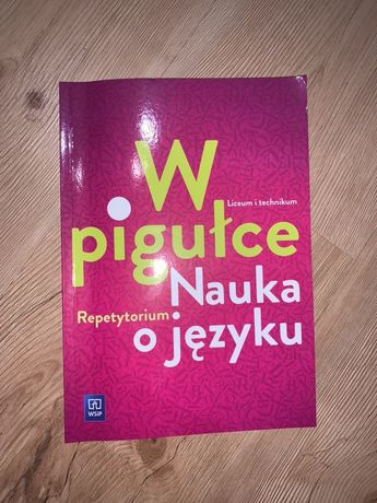 Repetytorium w pigułce Nauka o Języku