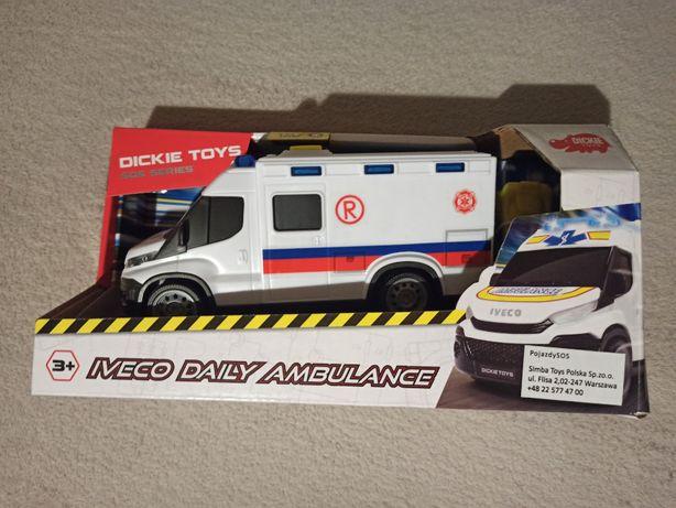 DICKIE Ambulans SOS IVECO Daily Ambulance