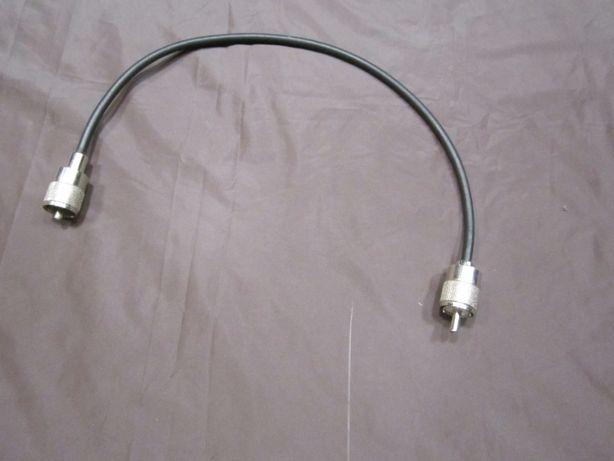 kabel z wtykami UHF