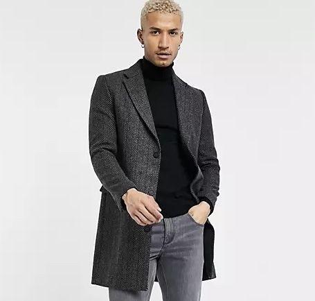 Шерстяное пальто Bolongaro Trevor Mallard