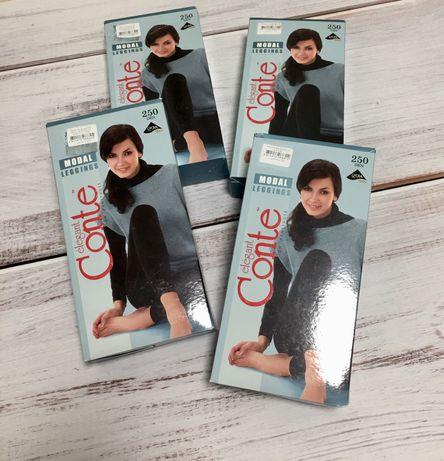 Леггинсы/ колготки женские из вискозы cоnte 250 den, легінси жіночі