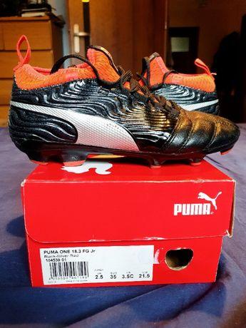 Buty piłkarskie Puma One 18.3 Junior używane rozmiar 35 korki