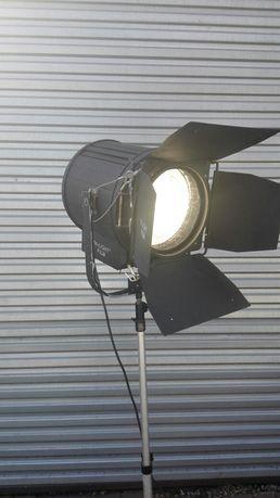 Lampa sceniczna teatralna filmowa loft industrial PRL vintage
