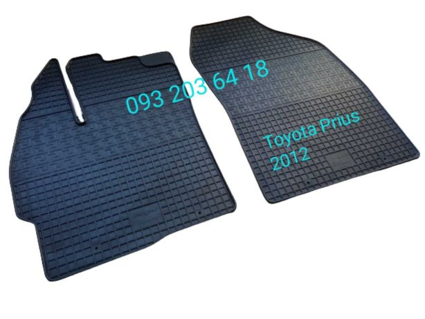 Коврики резиновые Toyota Prius 2012