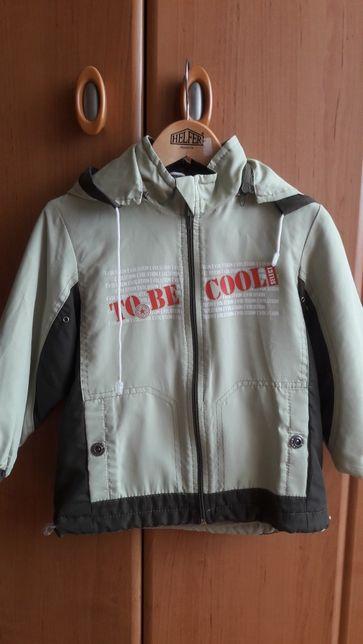 Куртка демісезонна для хлопчика, 98