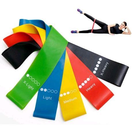 Фитнес резинки, резинки для спорта, новые резинки для фитнеса 5ШТУК!!