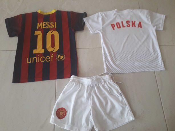 Strój sportowy koszulki + spodenki