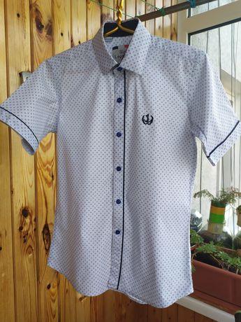 Рубашка короткий рукав 10 размер
