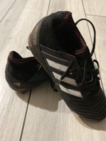 Adidas buty sportowe korki rozm 38, czarne Predator