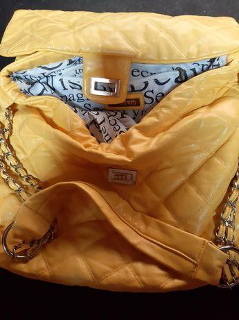 Żółta torebka top Secret