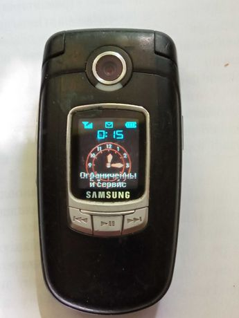 Телефон(раскладушка) samsung SGH E730