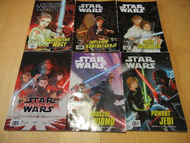 Star Wars 6 sztuk