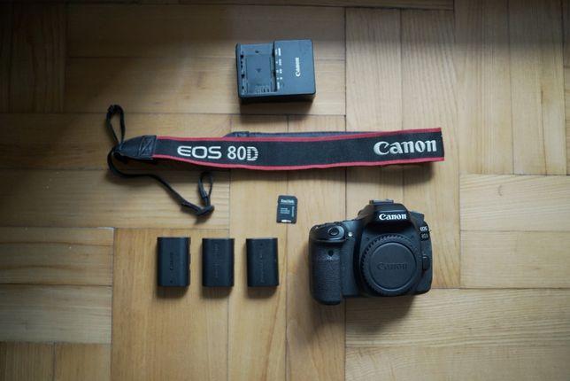 Canon 80 D lustrzanka