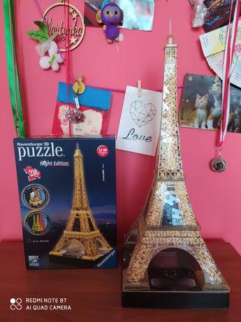 Puzzle 3 D wieża Eiffla
