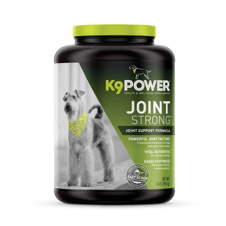 Добавка для суставов и связок собак K9 Joint Strong хондроитин глюкоза