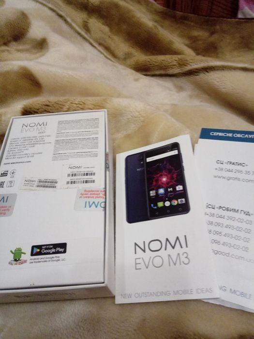 Телефон NOMI EVO M3 Ивано-Франковск - изображение 1