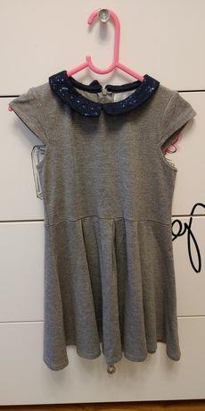 Sukienka dla dziewczynki H&M r 116