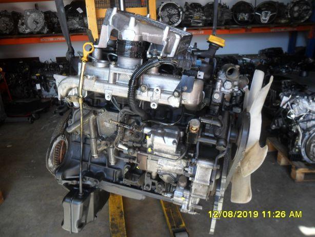 Motor e caixa NISSAN TERRANO II 2.7 TD27 125cv ano 2000