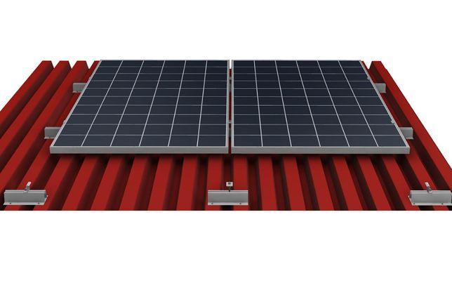 Комплект алюминиевых креплений для солнечных панелей