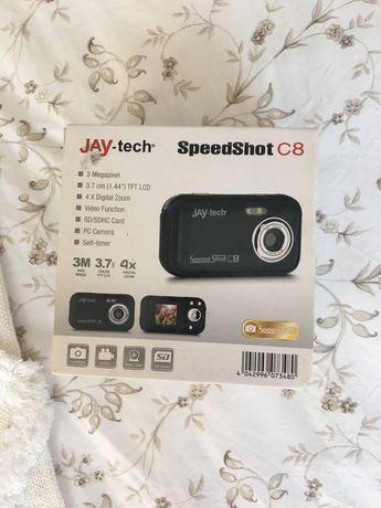 Aparat cyfrowy Jay-tech speedshot C8 nowy czarny