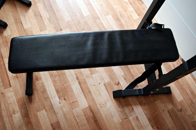 Ławka regulowana do ćwiczeń z ciężarem