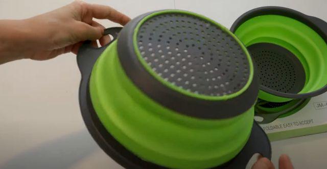 Продам дуршлаг силиконовый складной Collapsible filter baskets