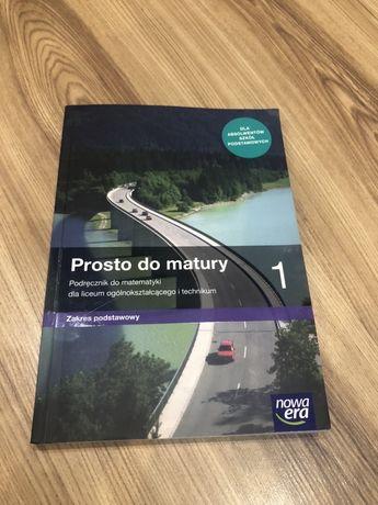Prosto do matury 1 podręcznik do matematyki