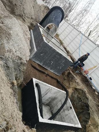 Zbiorniki P-POZ  szamba,kanaly,piwnice.