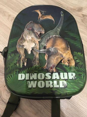 Plecak dinozaury do przedszkola