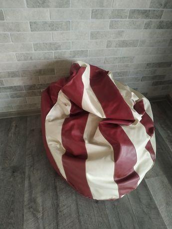 Мягкое кресло мешок, экокожа
