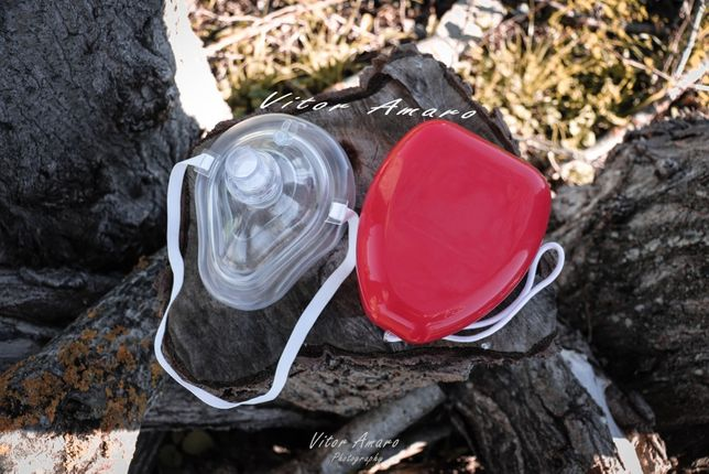 Mascara de Respiração CPR|NOVA