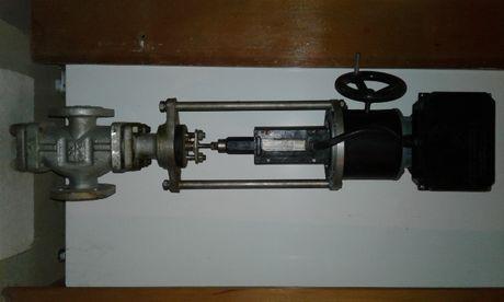 Регулирующий клапан с электроприводом