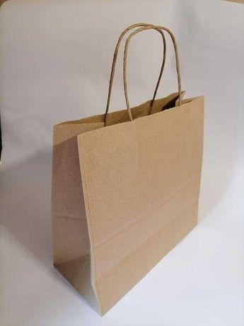 Пакет, пакет крафтовый с ручками, пакет бумажный