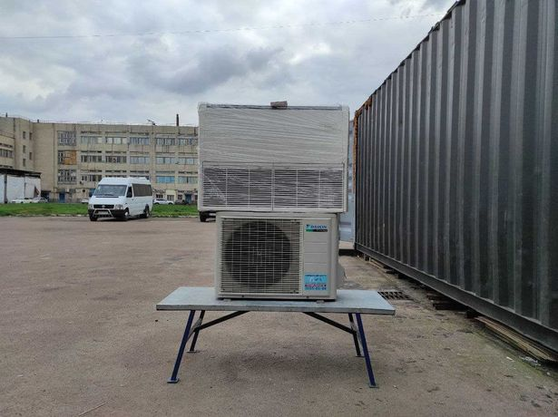 Кондиционер напольный потолочный Daikin FHQ35CAV до 35м2 бу фреон 410