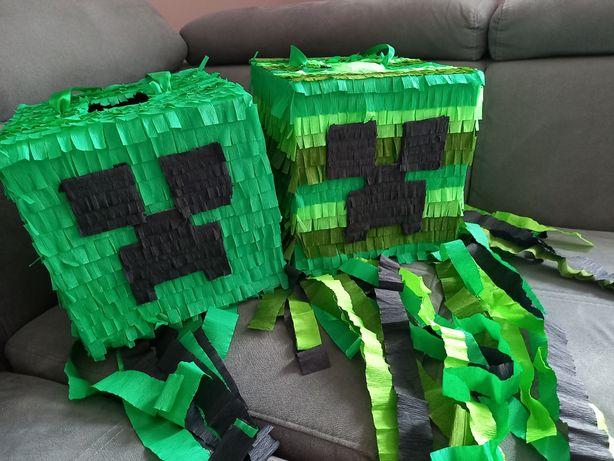 Piniata creeper Minecraft