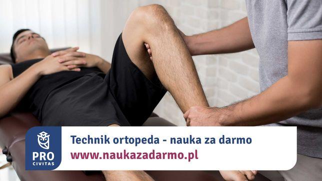 Technik ortopeda - zawód za darmo. Zapisz się do 31 sierpnia!