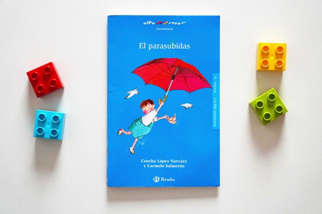 El parasubidas - książeczka hiszpańska